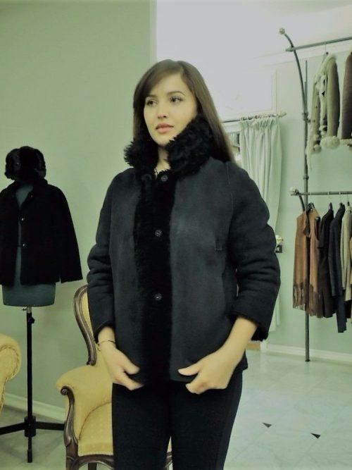 giacchino montone reversibile donna