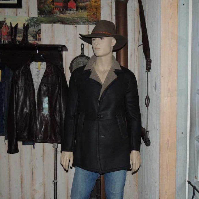 cappotto montone nappato uomo-1