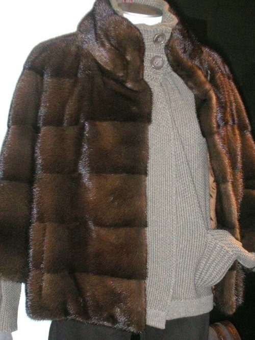 giacca visone anni sessanta
