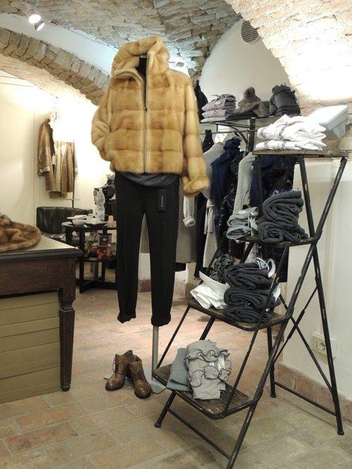 giacca visone decolorato con cerniera