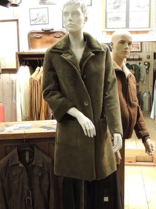 cappotto montone mod. anni cinquanta