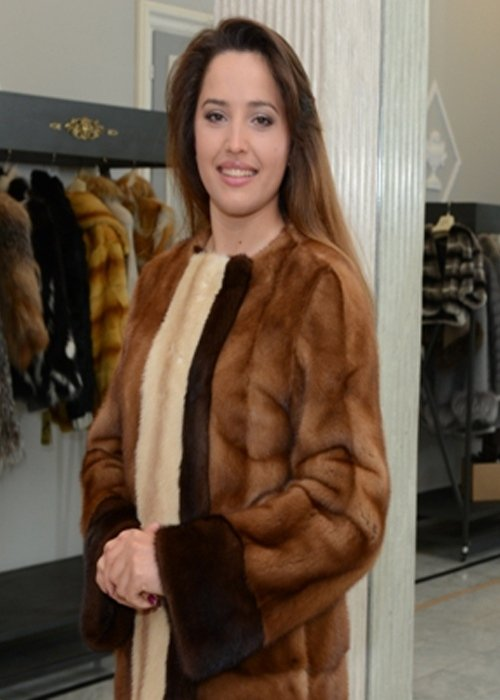 giacca visone femmina
