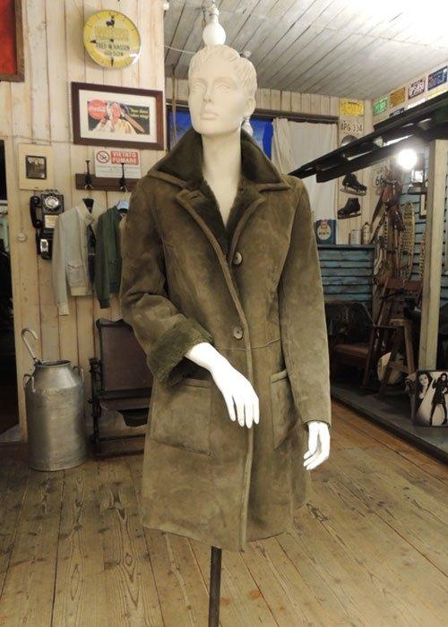 cappotto montone donna
