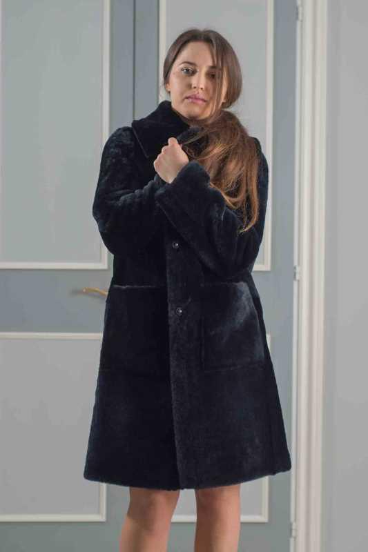 cappotto merino oversize donna
